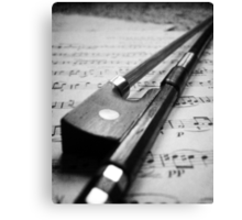 Violin Bow Canvas Print