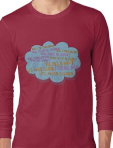 life makes ECHOES. Long Sleeve T-Shirt