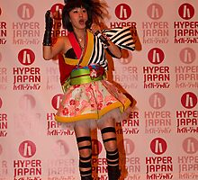 Yanakiku at Hyper Japan Earls Court by Keith Larby