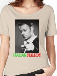ITALIAN STALLION - ROCCO SIFFREDI Women's Relaxed Fit T-Shirt