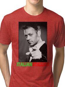 ITALIAN STALLION - ROCCO SIFFREDI Tri-blend T-Shirt