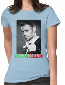 ITALIAN STALLION - ROCCO SIFFREDI Womens Fitted T-Shirt