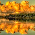 Cloud Bank - Narrabeen Lakes Sydney (45 Exposure HDR Panoramic) - The HDR Experience by Philip Johnson