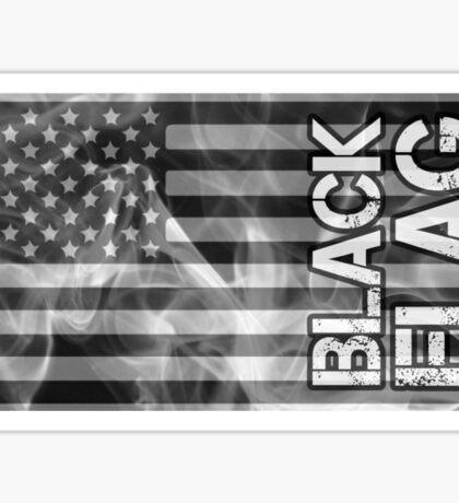 Black Flag Tee Sticker