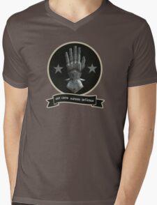 Est Caro Autem Infirma Mens V-Neck T-Shirt