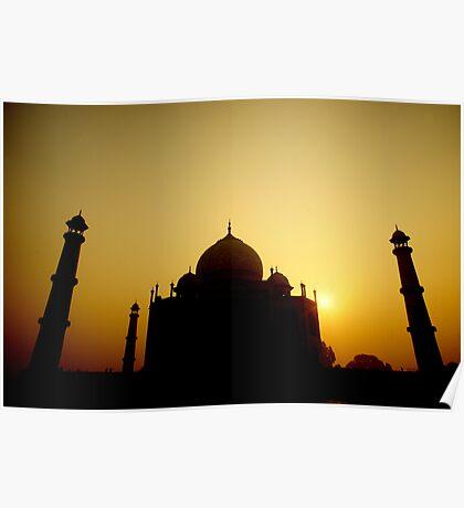 Goodmorning From the Taj Poster