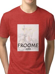 Chris Froome 2013 Tri-blend T-Shirt