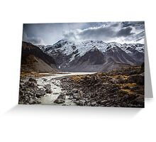 Hooker Valley Greeting Card
