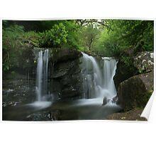 Tumbling waters at torc falls Poster
