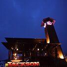 At the base of Teton Village, entrance to Jackson Hole by Ryan Davison Crisp