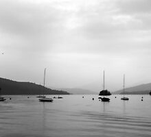 Rainy Lake Windermere by liberthine01