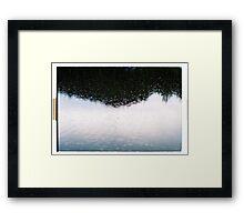 Rain II. Framed Print