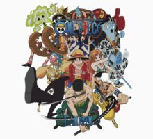 One piece crew all  by VirtualMan