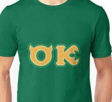 Monster University Fraternity  : Oozma Kappa Unisex T-Shirt