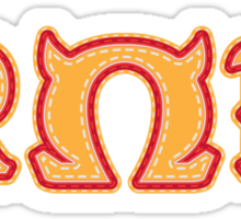 Monster University Fraternity : Roar Omega Roar Sticker