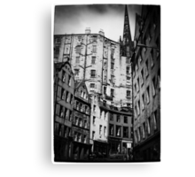 Edinburgh. Canvas Print