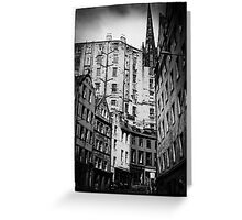 Edinburgh. Greeting Card