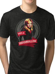 She's a Marshmallow Tri-blend T-Shirt