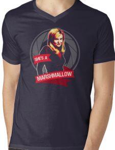 She's a Marshmallow Mens V-Neck T-Shirt