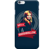 She's a Marshmallow iPhone Case/Skin