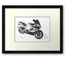 Yamaha YZF600R Thundercat Framed Print