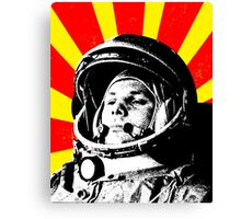 First man in space Canvas Print