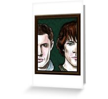 The Winchester Brothers Greeting Card