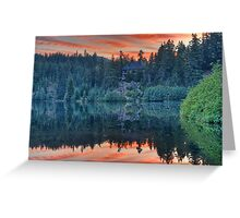 Nita Lake Greeting Card