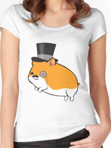 British Hamster Women's Fitted Scoop T-Shirt
