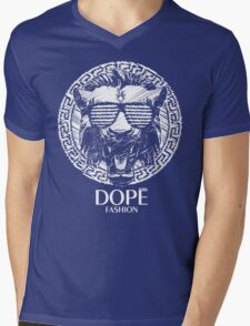 NOW ON BLACK GROUND-DOPE FASHION!!! VERSACE INSPIRED!!! :D Mens V-Neck T-Shirt