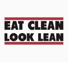 Eat Clean Look Lean by Fitbys