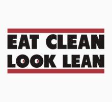 Eat Clean Look Lean by Fitbys