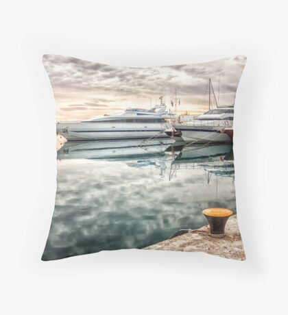 Lifestyle of the rich and the famous Throw Pillow