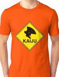 "Kaiju ""Giant Monster"" Warning Unisex T-Shirt"