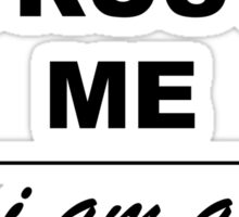 Trust me I´m a Scientist Sticker