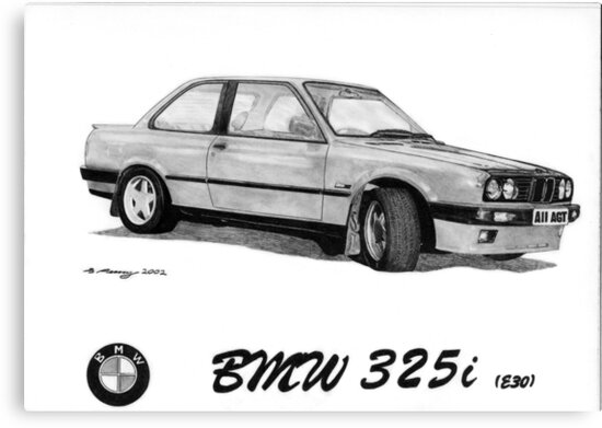 BMW 325i (E30) by Steve Pearcy