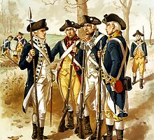 Infantry Of The Revolutionary War by warishellstore