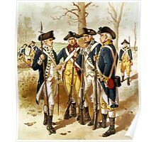 Infantry Of The Revolutionary War Poster