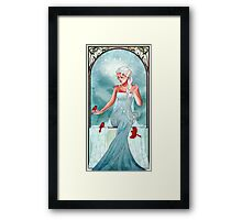 Queen of Ice and Snow Framed Print