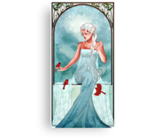 Queen of Ice and Snow Canvas Print