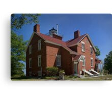 Forty Mile Point Lighthouse in Michigan Canvas Print