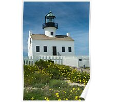 Cabrillo National Monument Lighthouse in San Diego  Poster