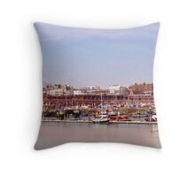 Harbour Sights Throw Pillow