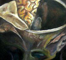 Brain I by AnnTigone