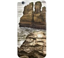 Pancake Rocks 2 iPhone Case/Skin