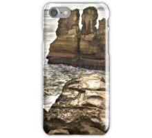 Pancake Rocks 2 iPhone Case/Skin