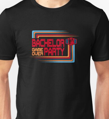 Bachelor Party Game Over Unisex T-Shirt