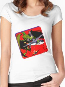 Dinowar Women's Fitted Scoop T-Shirt