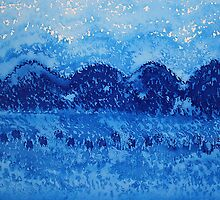 Blue Ridge original painting by CrowRisingMedia