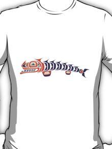 angry fish - aboriginal art stylization T-Shirt